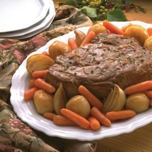 Traditional Pot Roast Recipe